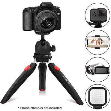 Andoer D6226   2in1 Mini Tripod für Kameras & Smartphones für 10,99€   aus DE