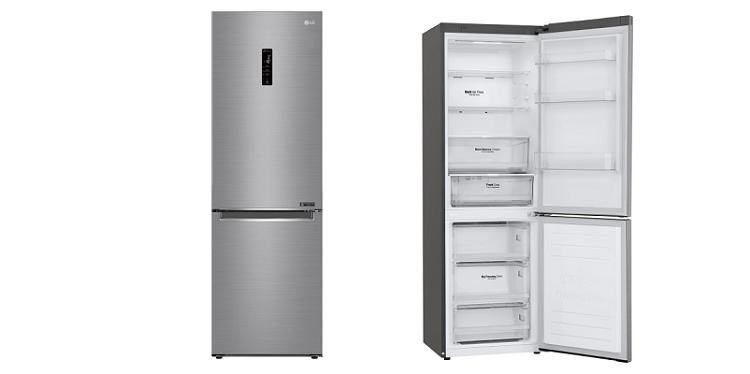 LG GBB61PZFFN Kühlgefrierkombination mit NoFrost (EEK: D) für 549,90€ (statt 659€)
