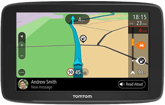 TomTom Go Basic 6   6 Navigationsgerät TMC mit Europakarten für 139€ (statt 157€)