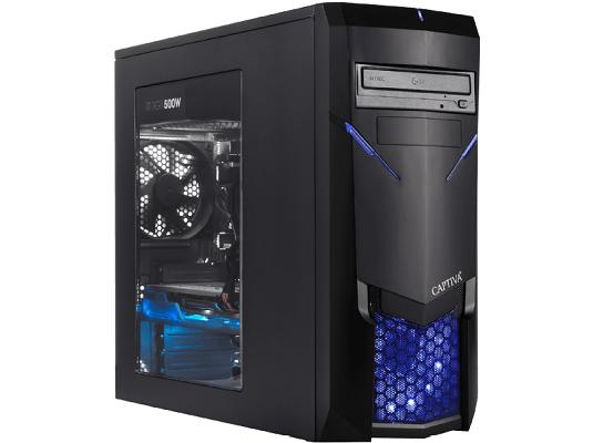 CAPTIVA I47 940 Gaming PC (i5, 8 GB RAM, 120 GB SSD, 1 TB HDD, GeForce RTX 2060) für 844€ (statt 1.139€)