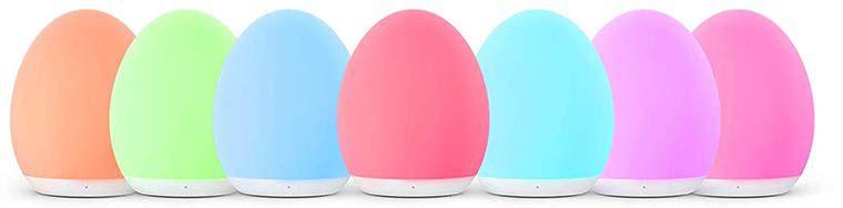 VAVA VA CL009   LED Nachtlicht mit 8 Farben & verschiedenen Modi für 14,84€ (statt 23€)