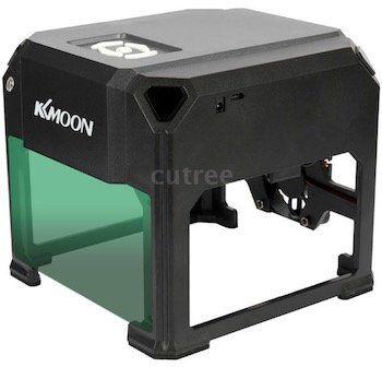 Kompakte KKmoon DIY Desktop Laser Gravur Maschine mit 3000mW für 91,87€   Versand aus DE