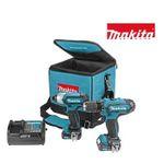 Makita-Set CLX201SA (Bohrschrauber, Schlagschrauber, 2x Akku, Ladegerät und Tasche) für 158,90€ (statt 210€)