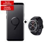 Samsung Galaxy S9 Plus + Samsung Gear S3 Frontier für 79€ + Vodafone Flat mit 6GB LTE für 21,99€ mtl.