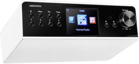 Medion P85063 WLAN Unterbau Internetradio mit 3,2 Display für 49,95€ (statt 65€)