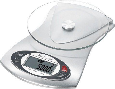 MEDISANA 40467 KS 220 Küchenwaage (max. Tragkraft: 5 kg) für 11,99€ (statt 15€)