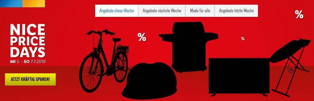 LIDL Nice Price Freitag: viele günstige Artikel + VSK frei ab 30€