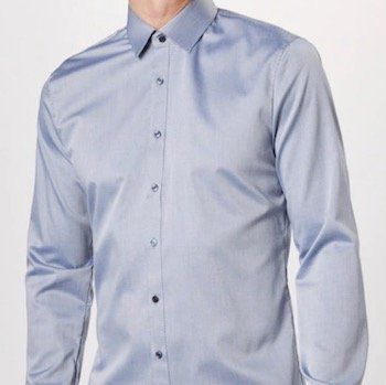 OLYMP Hemd in Rauchblau in fast allen Größen für 17,95€ (statt 40€)