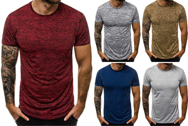 OZONEE 9794   Herren kurzarm T Shirts bis 2XL für je 7,95€ (statt 10€)