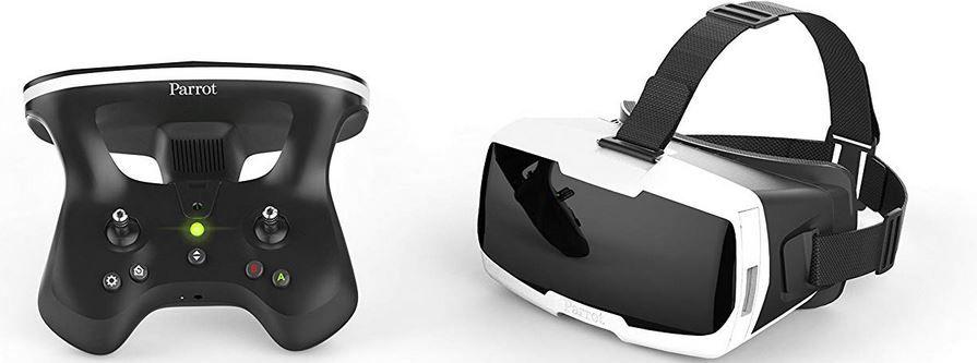 Parrot Bebop 2 FPV Drohnen Set mit Skycontroller und FPV Brille Kamera 14MP für 345€ (statt 404€)