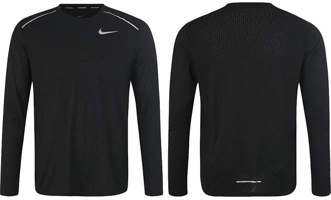 Nike Sport Shirt BRTHE RISE 365 LS für 18,62€ (statt 29€)