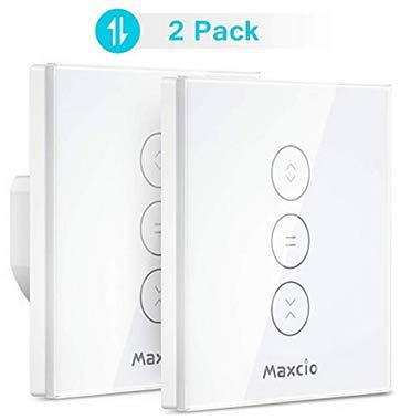 2erPack: Maxcio WF CS01   Rollladen Zeitschaltuhr mit App Anbindung & Sprachsteuerung für 26,59€ (statt 38€)