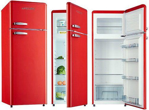 RESPEKTA KG 146 Retro Kühlgefrierkombination mit EEK A++ für 329€