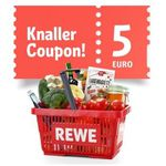 REWE: 5€ Rabatt ab 40€ Einkauf online und offline – Coupon in der App