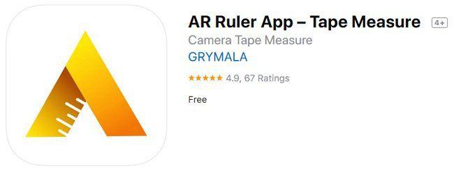 iOS: AR Ruler App – Tape Measure kostenlos (statt 9€)