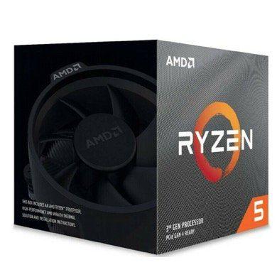 AMD Ryzen 5 3600 Prozessor Boxed (6 Core, 3.6GHz, Socket AM4) inkl. Lüfter für 157,54€ (statt 179€)