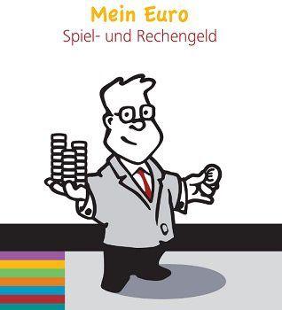 Kindgerechte Publikation über den Euro mit Spiel  und Rechengeld kostenlos bestellen