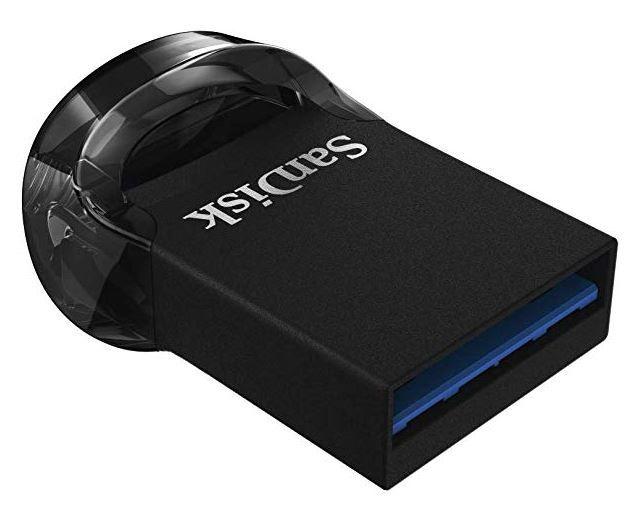 SanDisk Ultra Fit 512GB Flashlaufwerk USB 3.1 bis zu 130MB/Sek. für 54,99€ (statt 77€)