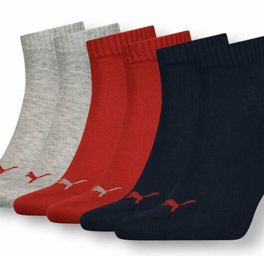 15 Paar Puma Unisex Sneaker- u. Sportsocken in vielen Farben für je 29,99€