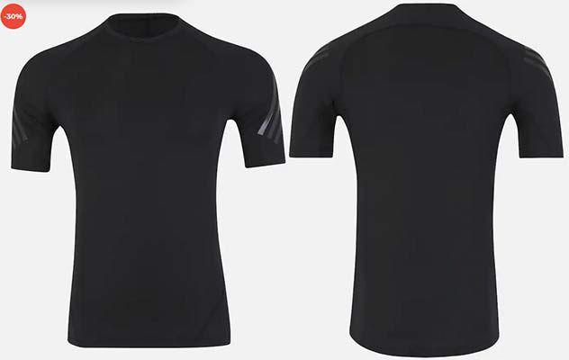 adidas Alphaskin Tech 3 Streifen Trainingsshirt für 29,67€ (statt 35€)