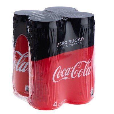 Schnell? 24x 330ml Cola Zero oder Fanta für 11,99€ inkl. 6€ Pfand   bei 3 Palletten keine VSK