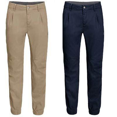 Jack Wolfskin Freizeithose Blue Lake Cuffed Pants in Braun & Blau für je 53,27€ (statt 65€)