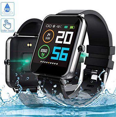 Zagzog Smartwatch mit 1,54 Zoll Touchdisplay mit GPS & vielen Funktionen für 27,49€ (statt 50€)