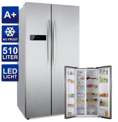 comfee SBS 527.1 NFA+ Side by Side Kühl Gefrierkombination mit LCD Display & NoFrost für 449,41€ (statt 568€)