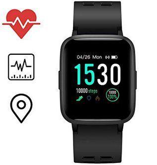 Icefox Smartwatch mit GPS & mehr für 24,99€