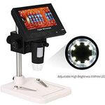 KKmoon digitales Mikroskop mit 4,3 Zoll LCD & 720p für 27,49€ (statt 50€)