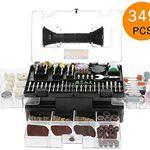 Meterk MK32 Zubehörset aus 349 Teile für Multifunktionswerkzeug für 17,99€ (statt 23€)