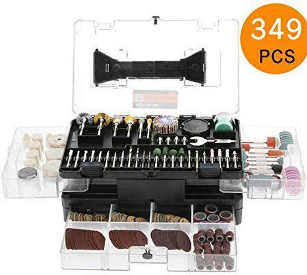 Meterk MK32 Zubehörset aus 349 Teile für Multifunktionswerkzeug für 25,89€ (statt 33€)