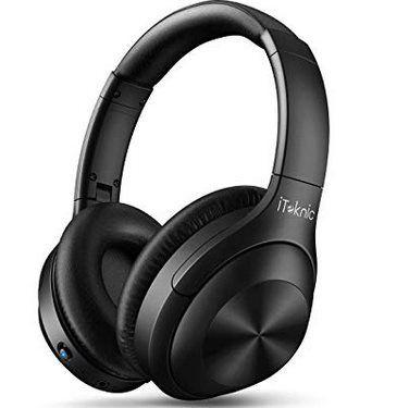 iTeknic BH002   Bluetooth 5.0 OverEar Kopfhörer mit ANC & bis zu 20h Spielzeit für 29,99€ (statt 50€)