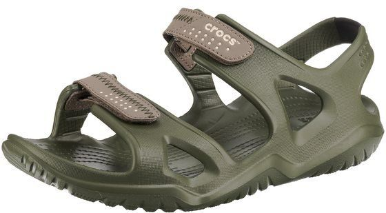 Crocs Swiftwater River Sandal M Agr/Kha Sandalen für 28,04€ (statt 33€)