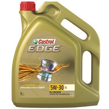 5L Castrol EDGE Titanium FST 5W 30 LL für 34,99€ (statt 38€)