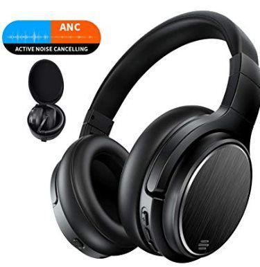 Udaily M1 OverEar BT Headset mit ANC & bis zu 50h Spielzeit für 35,99€ (statt 60€)