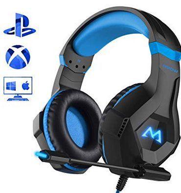 Mpow Gaming Headset mit 2,2m langem Kabel für 13,99€   Primer