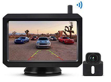 BOSCAM K7   Kabellose Rückfahrkamera inkl. 5 Zoll LCD für 83,29€ (statt 119€)