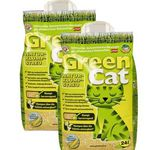 2x 24L Green Cat Naturklumpstreu für 12,99€ (statt 17€)