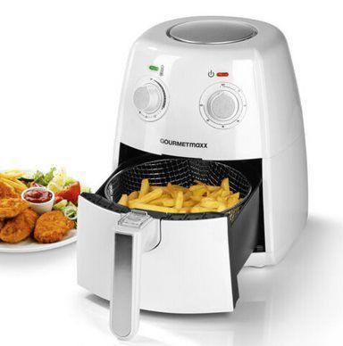 GOURMETmaxx XL 1057   Heißluft Fritteuse mit 1500W für 39,99€ (statt 60€)