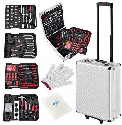 Juskys Werkzeugkoffer mit 1001 Teilen für 69,95€ (statt 80€)