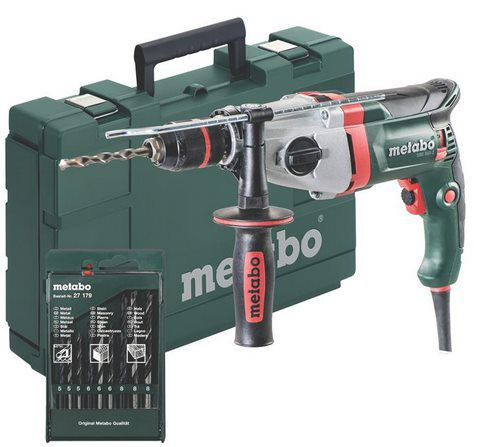 MetaboSBE 850 2   850W Schlagbohrmaschine inkl. Bohrer für 104,95€ (statt 120€)