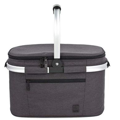 22L Einkaufs , Kühl  & Picknickkorb mit Isolierfunktion für 12,59€   Prime