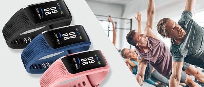 WiMiUS Fitnesstracker mit Herzfrequenz  & Pulsmessung für 12€   Prime
