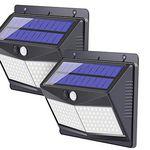 2er Pack: Solar-Außenleuchte mit 108 LEDs & Bewegungsmelder für 13,79€ (statt 28€)
