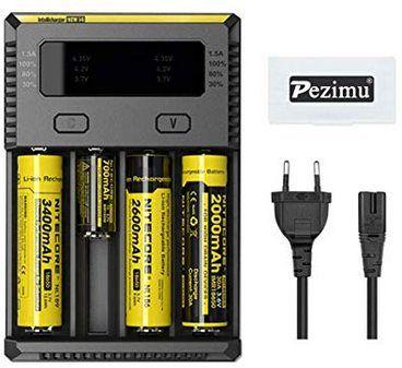 Pezimu Nitecore New i4 Ladegerät für 12,98€ (statt 17€)   Prime