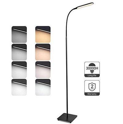 TaoTronics TT-DL072 – LED Stehlampe mit 4 Farbmodi & Stufen für 31,99€ (statt 36€)