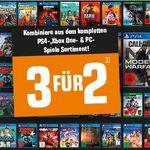 Top! Saturn: 3 Games zum Preis von 2 – keine mehrfach Bestellungen für den gleichen Artikel