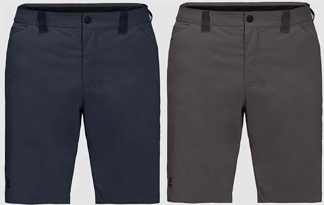 Jack Wolfskin Softshellshorts Glen East Flex in 2 Farben für je 42,07€ (statt 52€)