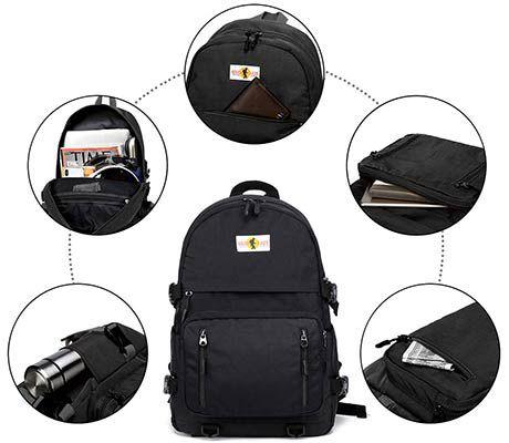 Leichter Rucksack (30L) mit USB Anschluss für 13,83€ (statt 27€)